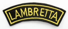 Lambretta - Embroidered Shoulder Patch